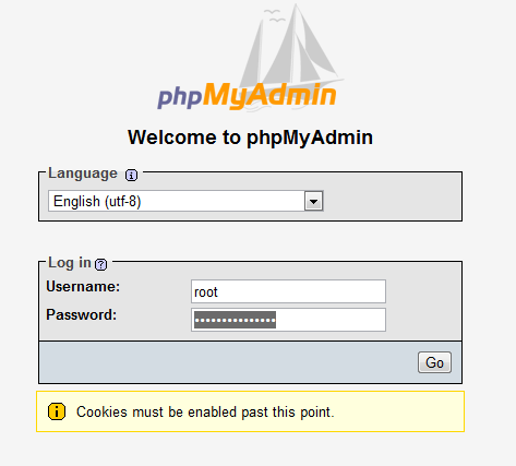 How to create a mysql database with phpmyadmin webvault help centre image ccuart Image collections