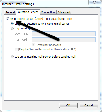 How To Setup POP3 or IMAP Email in Outlook 2010 - Webvault Help Centre